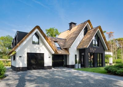 Wit landelijke villa droomhuis